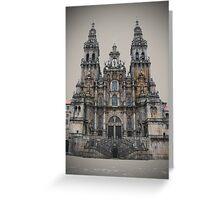 Cathedral of Santiago De Compostela Greeting Card