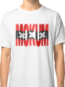 Mokum + Amsterdam vlag Classic T-Shirt