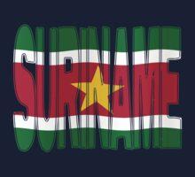 Suriname + vlag by stuwdamdorp