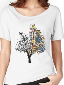 Butterfly Tree Women's Relaxed Fit T-Shirt