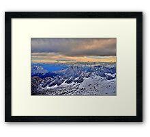 Mountain Alps Framed Print