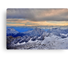 Mountain Alps Metal Print