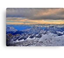 Mountain Alps Canvas Print