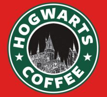 Hogwarts Coffee (Black) by Royal Bros Art