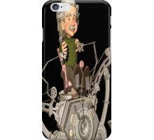 Einstein Rides Again iPhone Case/Skin