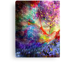 Shadowed Reality Canvas Print