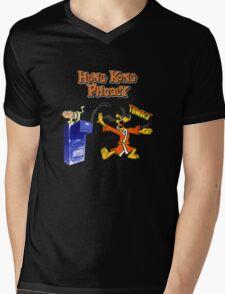 Hong Kong Phooey Mens V-Neck T-Shirt