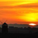 November Sunset by GillBell