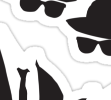 Blues Brothers Tee Sticker