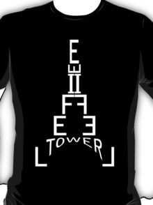 Another Eiffel of Typeness T-Shirt