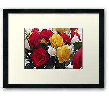 Bunch of roses Framed Print