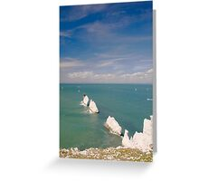 The Needles, Isle of Wight Greeting Card