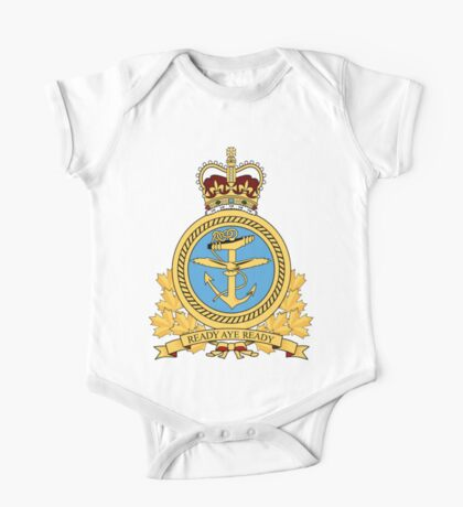 Canadian Forces Maritime Command Emblem One Piece - Short Sleeve