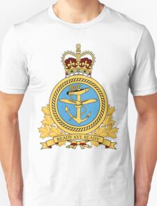 Canadian Forces Maritime Command Emblem Unisex T-Shirt