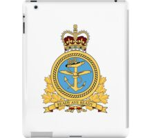 Canadian Forces Maritime Command Emblem iPad Case/Skin