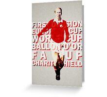 Sir Bobby Charlton Greeting Card