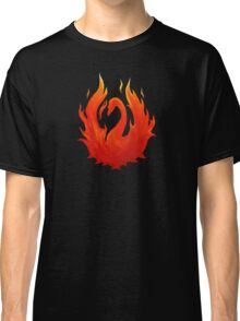 Swan on Fire (Color) Classic T-Shirt