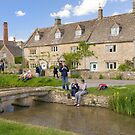 Lower Slaughter village, Cotswolds by Andrew Duke