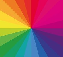 Jamie xx 'In Colour' Pantone Color Spectrum  by yungbean