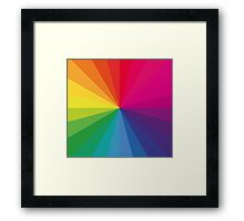 Jamie xx 'In Colour' Pantone Color Spectrum  Framed Print