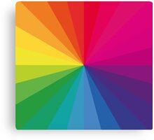 Jamie xx 'In Colour' Pantone Color Spectrum  Canvas Print