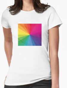 Jamie xx 'In Colour' Pantone Color Spectrum  Womens Fitted T-Shirt