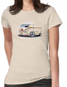 VW Splitty Pick-Up (RB) Womens Fitted T-Shirt