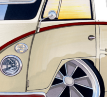 VW Splitty Pick-Up (RB) Sticker