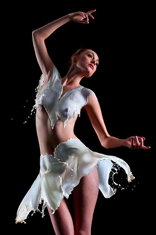 Milky Ballerina by Ben Prewett