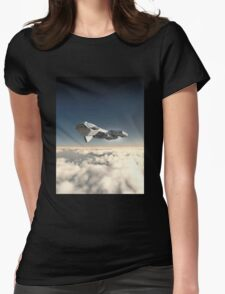 Inside the Atmosphere Womens Fitted T-Shirt