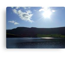 Sunshine Over Dovestones Reservoir Canvas Print