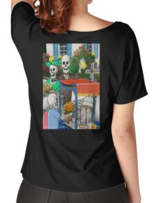 DAY OF THE DEAD #2 Women's Relaxed Fit T-Shirt