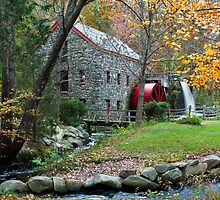 Sudbury Grist Mill by Steve Borichevsky