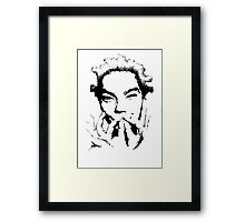 Birthday, bjork Framed Print