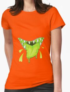 BLEH!! Womens Fitted T-Shirt