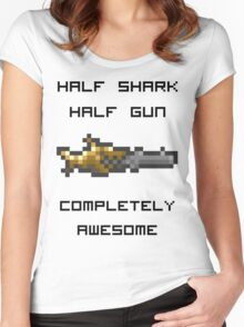 Minishark Terraria Women's Fitted Scoop T-Shirt