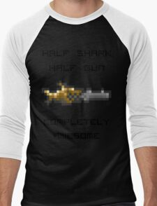 Minishark Terraria Men's Baseball ¾ T-Shirt
