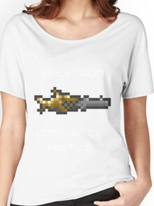 Minishark Terraria (reversed colours) Women's Relaxed Fit T-Shirt