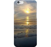 I know it is pretty rare but ... If you can get the help of a bottle of good rum, sometimes you might see a double sunset ;-) iPhone Case/Skin