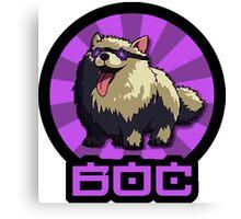 "Future Hypedog ""BoC"" Logo Canvas Print"