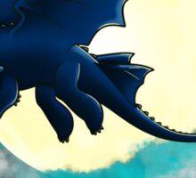 Toothless Dragon Night Fury Sticker