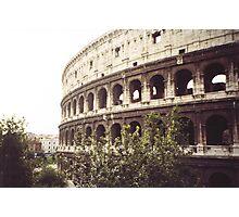 il colosseo -roma-Italy-_quando si parla di grandi monumenti --- Italy --4200 VISUALIZZ.  A GENNAIO 2013- featured italia 500+-RB EXPLORE 22 NOVEMBRE 2011--- Photographic Print