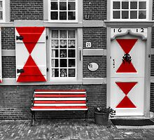 Red Triangles by Rob Hawkins