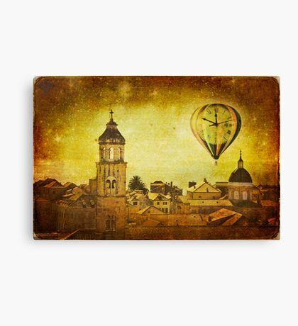 Time traveller Canvas Print