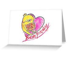 Bacon Pancakes! Greeting Card