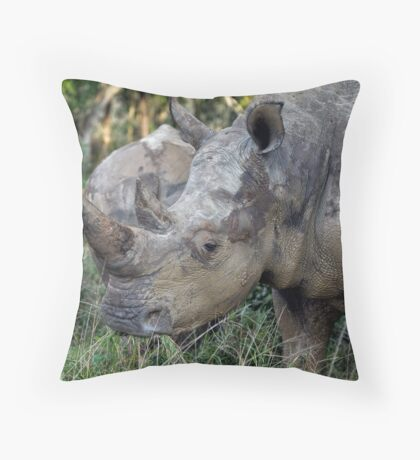 Now That Is A HORN ! Throw Pillow
