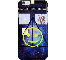 Sherlock Holmes Harry Potter Doctor Who iPhone Case/Skin