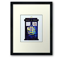 Sherlock Holmes Harry Potter Doctor Who Framed Print