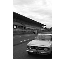 Reims race Circuit Photographic Print