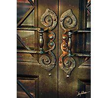 The Door Handles Photographic Print